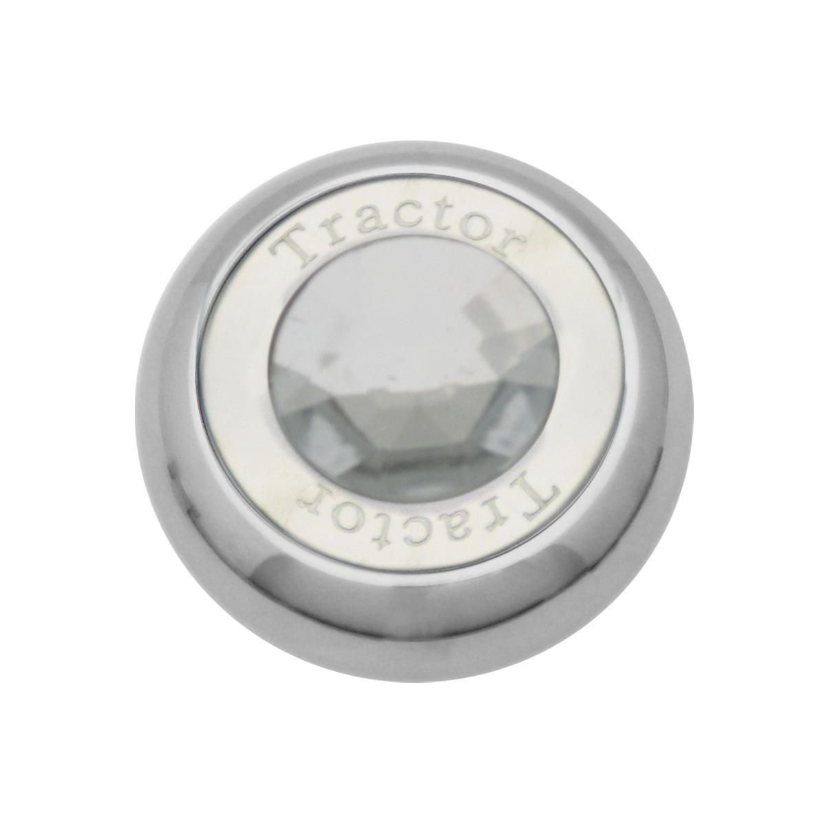 95372 Chrome Screw-In Air Valve Control Knob w/ Crystal