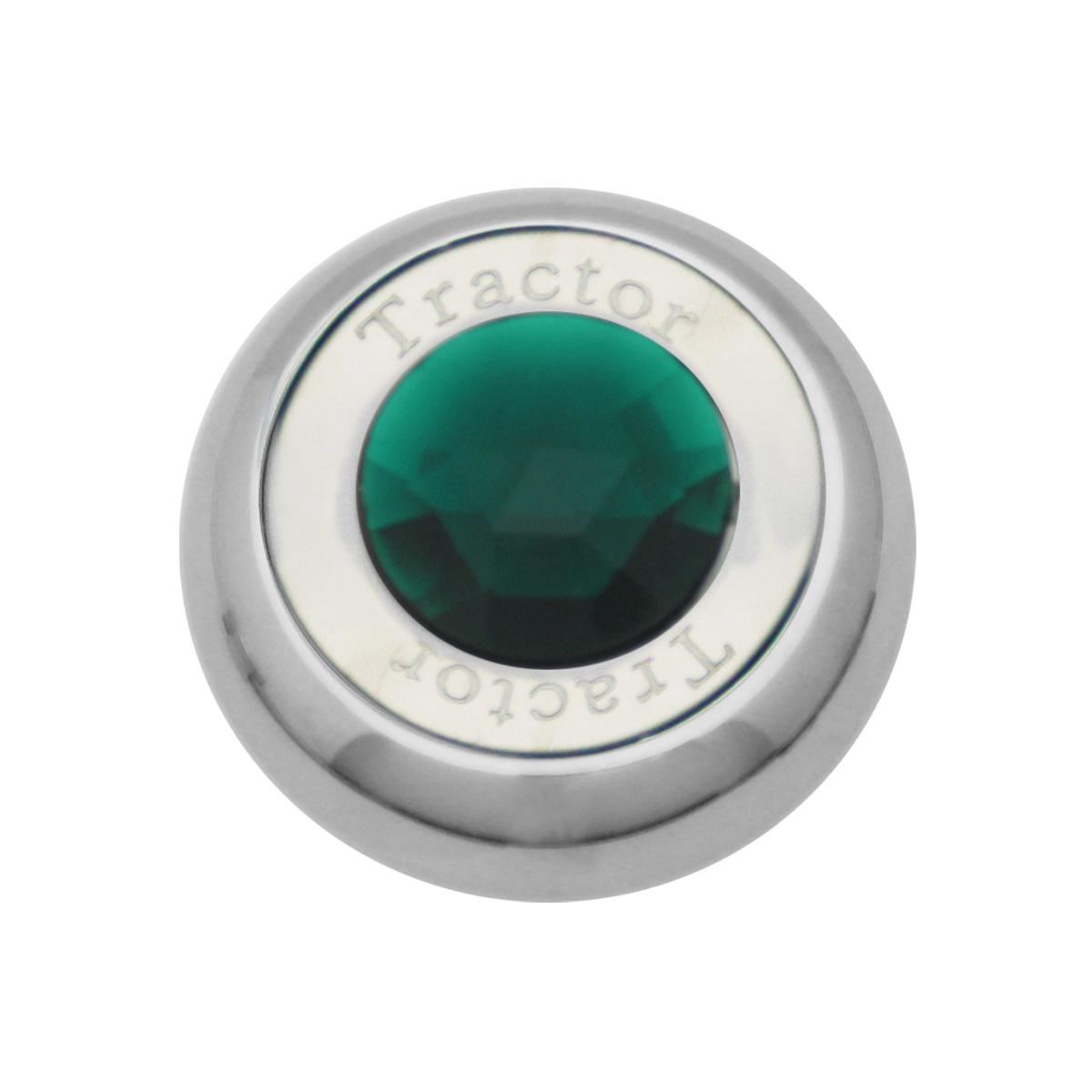 95373 Chrome Screw-In Air Valve Control Knob w/ Crystal