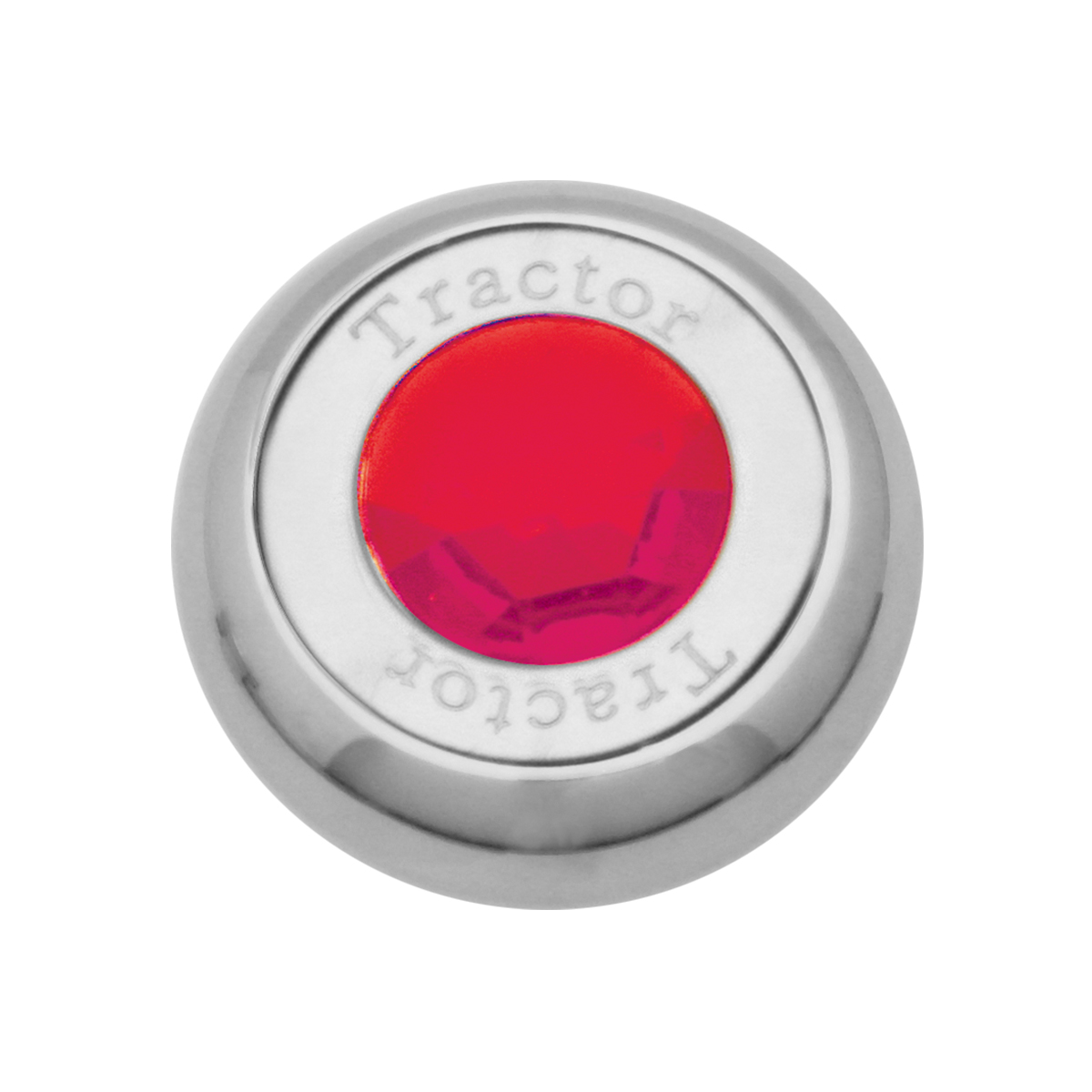 95375 Chrome Screw-In Air Valve Control Knob w/ Crystal
