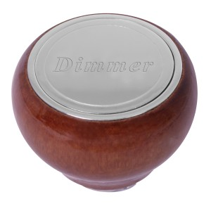 Small Wood Dashboard Control Knobs