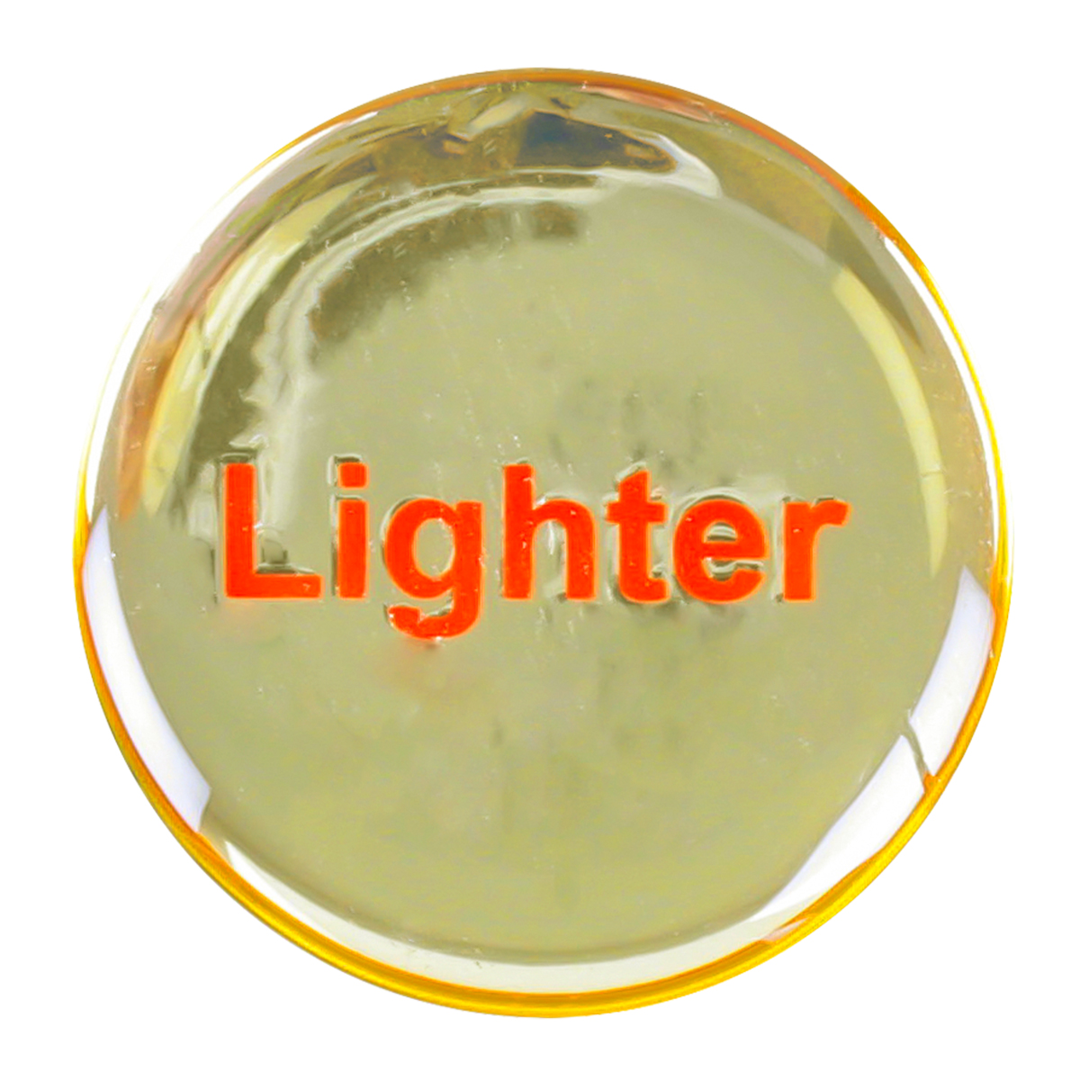 96252 Gold Sticker for Cigarette Lighter Knob
