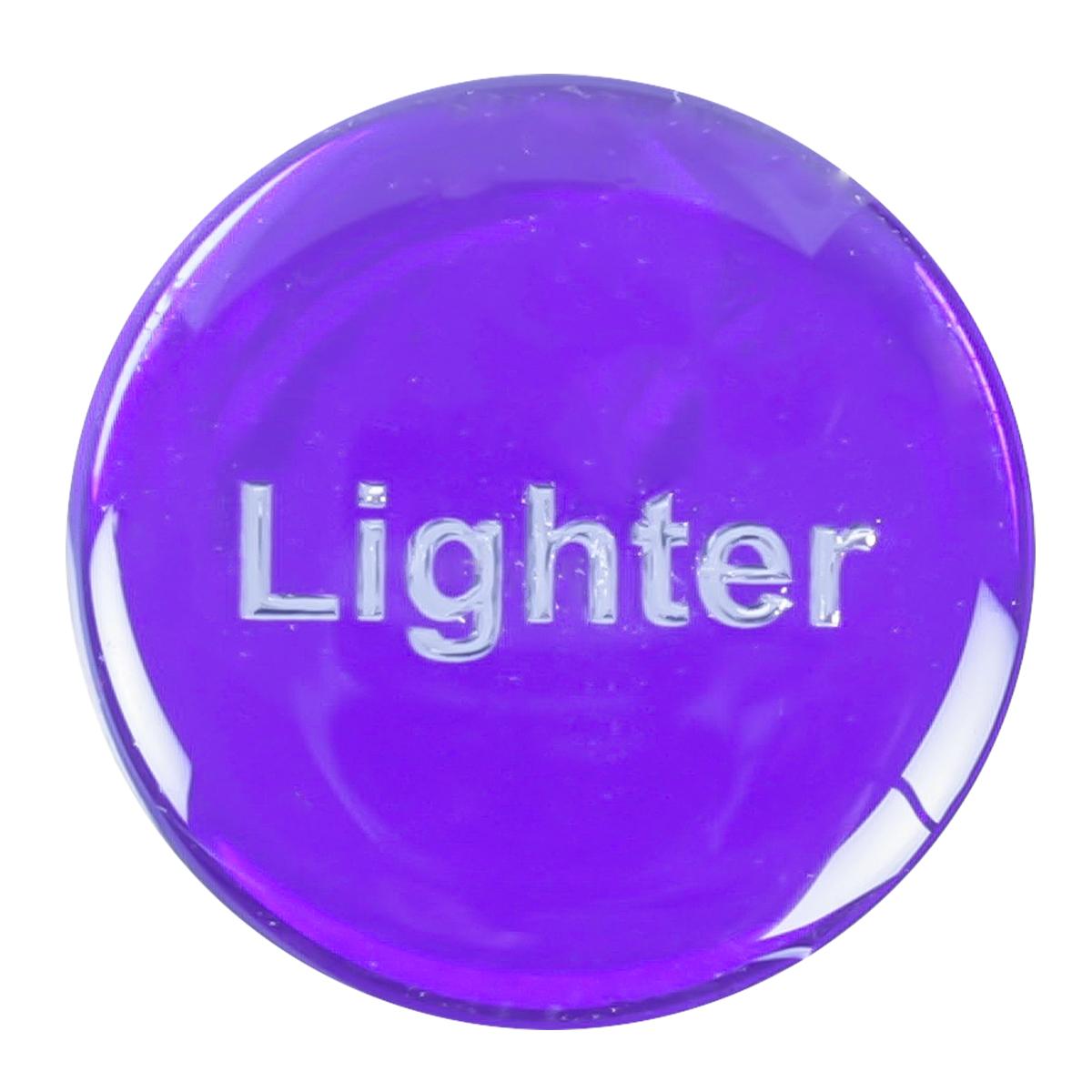 96654 Purple Sticker for Cigarette Lighter