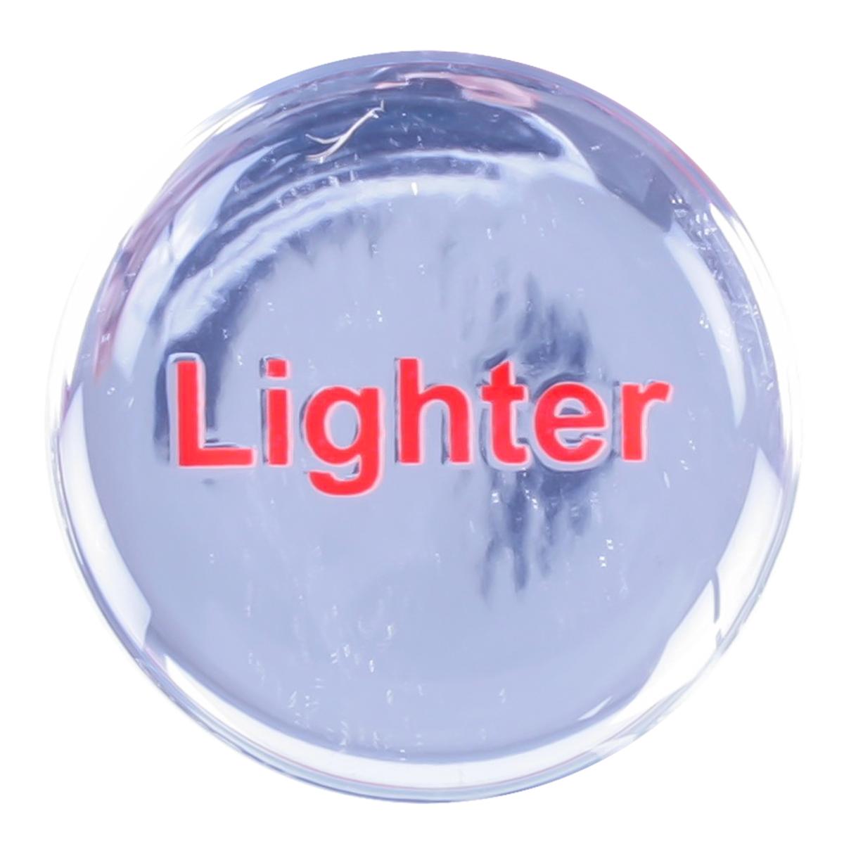 96256 Silver Sticker for Cigarette Lighter Knob