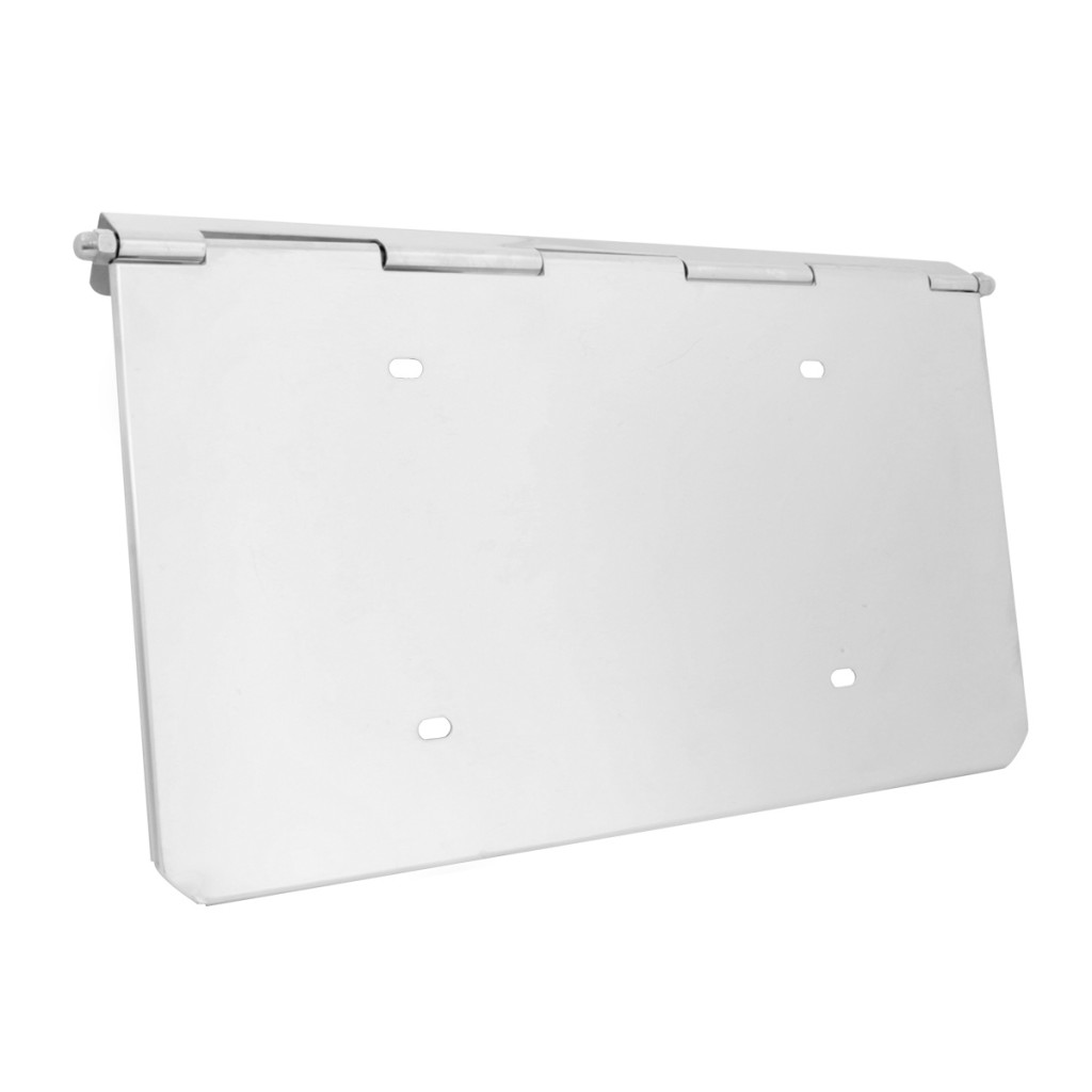 Bumper License Plate Holder For Peterbilt Grand General