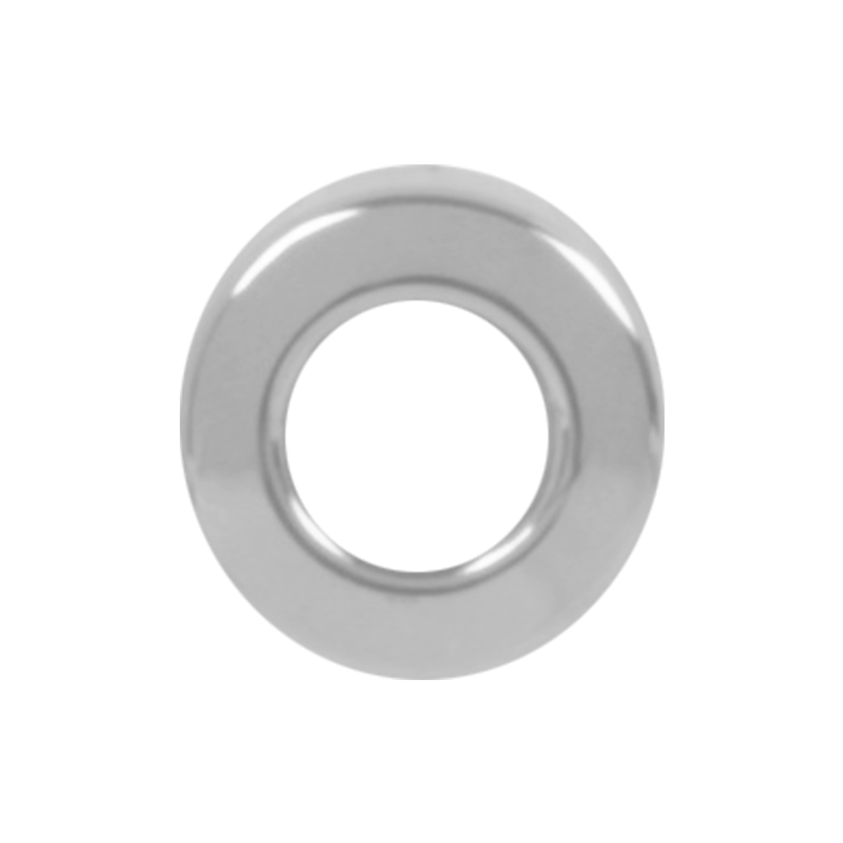 67260 KW Chrome Plastic Toggle Switch Face Nut Cover