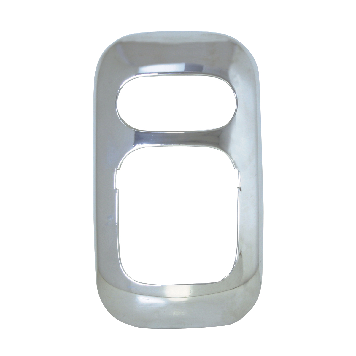 67829 Chrome Plastic Dome Light Cover for FL Columbia/Coronado