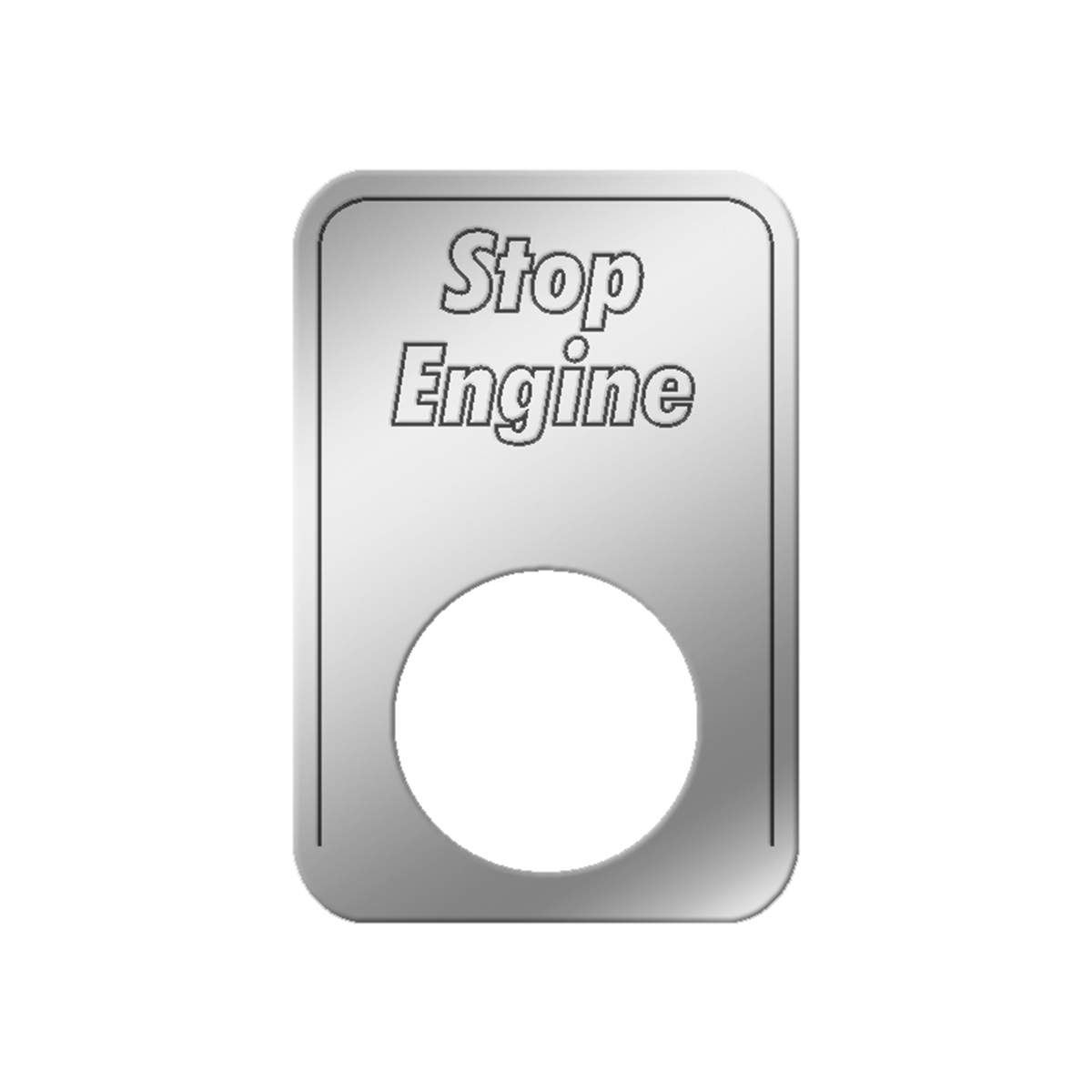 #68558 Stop Engine Indicator Light