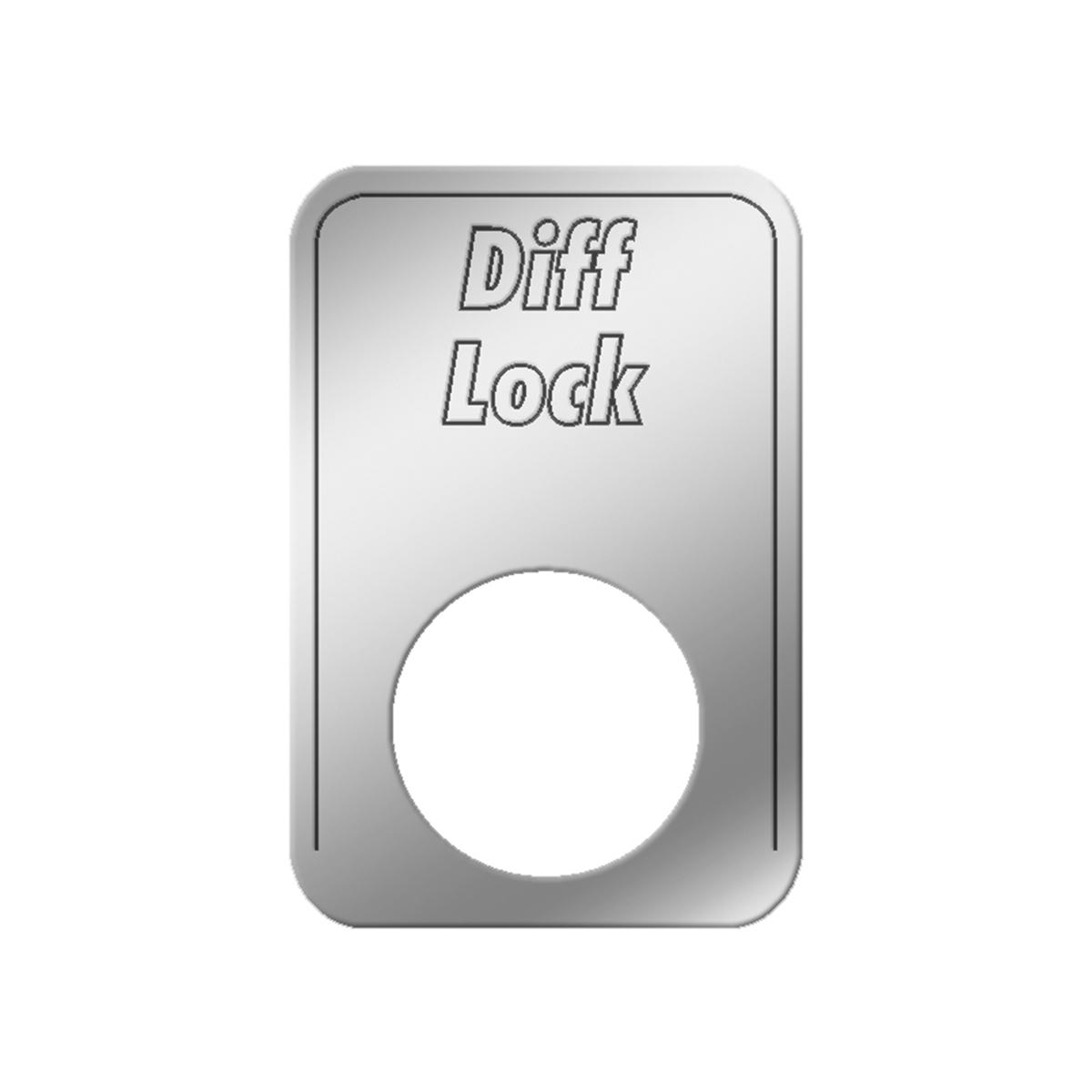 #68559 Full Locking Main Differential Indicator Light