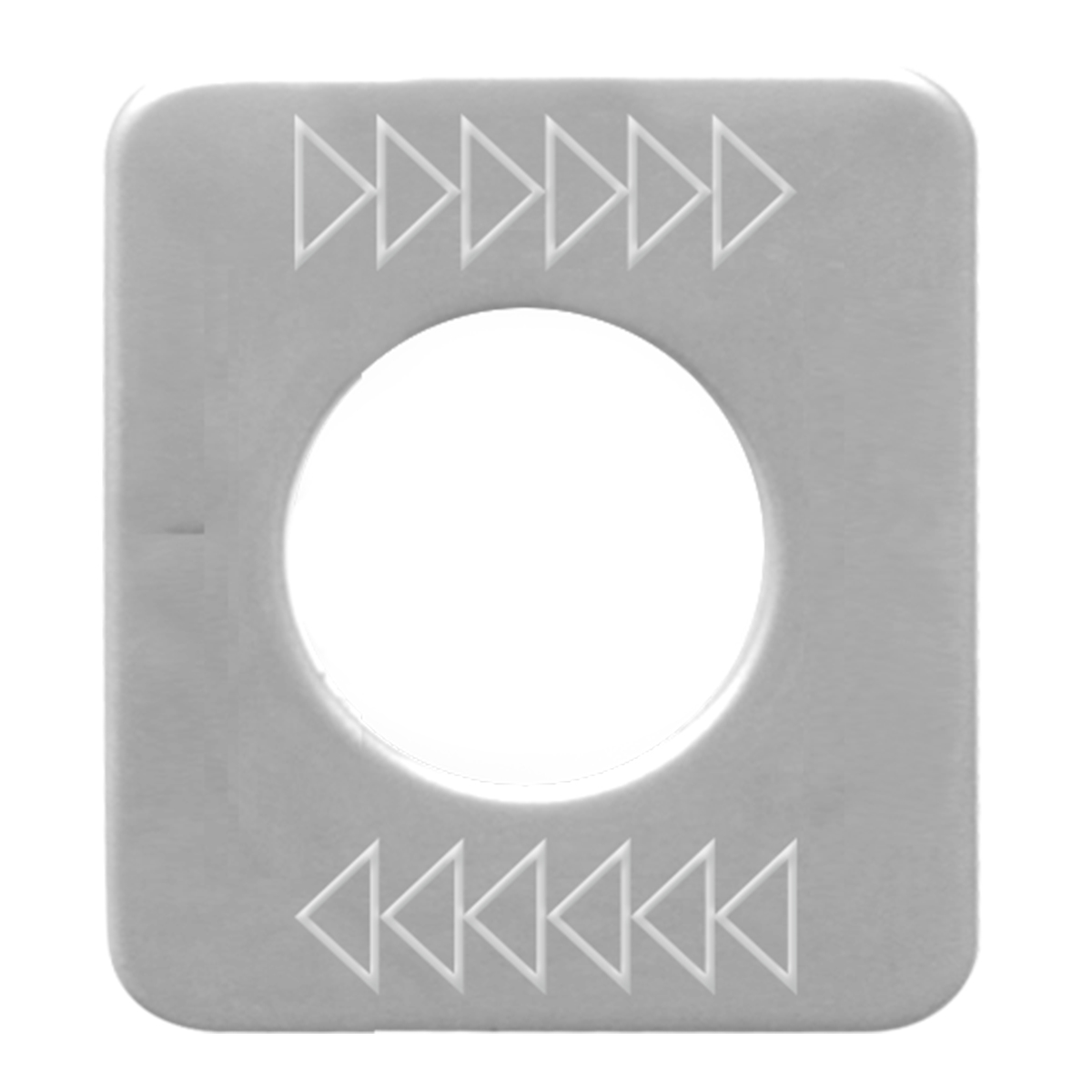 68597 Stainless Steel Right Top Arrow Switch Plate for KW