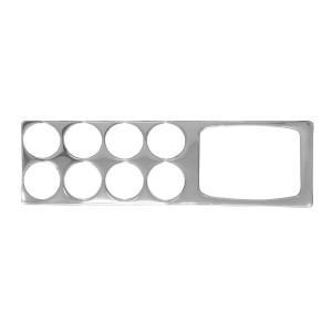 Chrome Plastic Dash Accessories for Kenworth