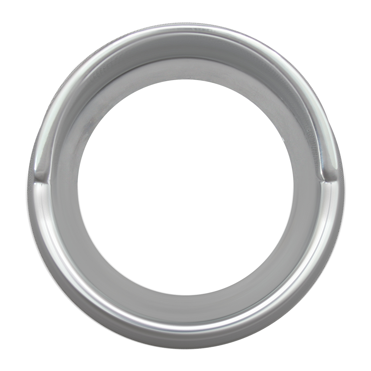 68390 Chrome Plastic Small Snap-On Gauge Cover w/ Visor for KW