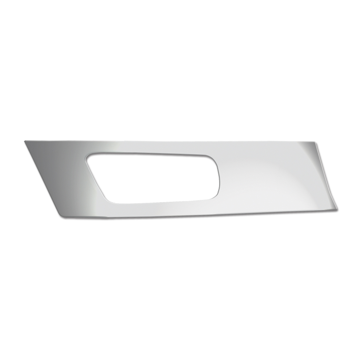 68922 KW Chrome Soft Plastic Driver Side Door Panel
