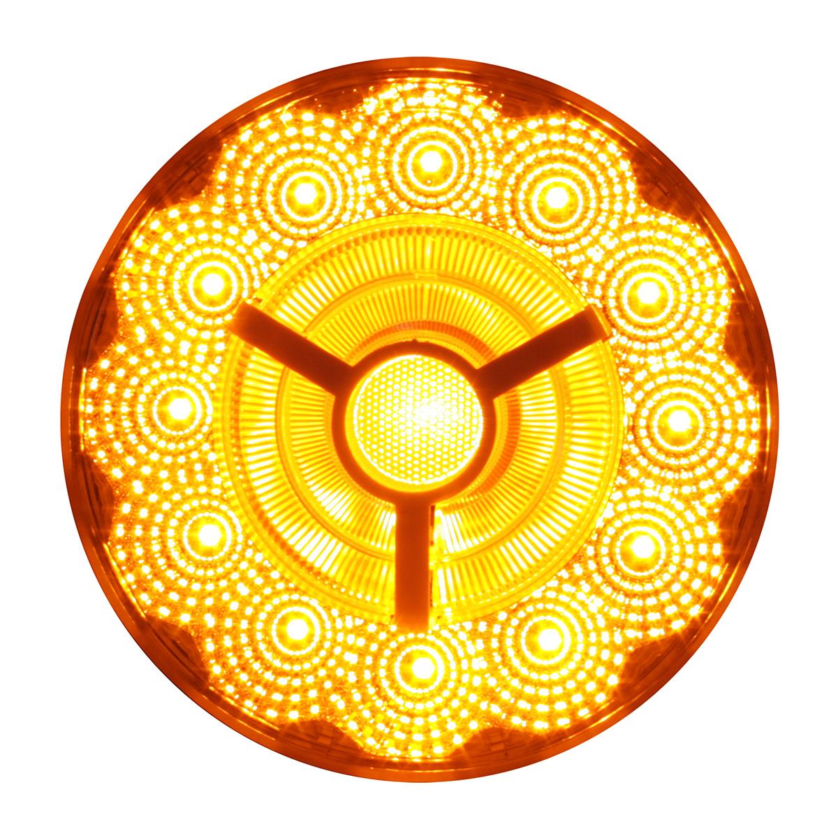 "74871 4"" Prime Spyder LED Light in Amber/Clear"
