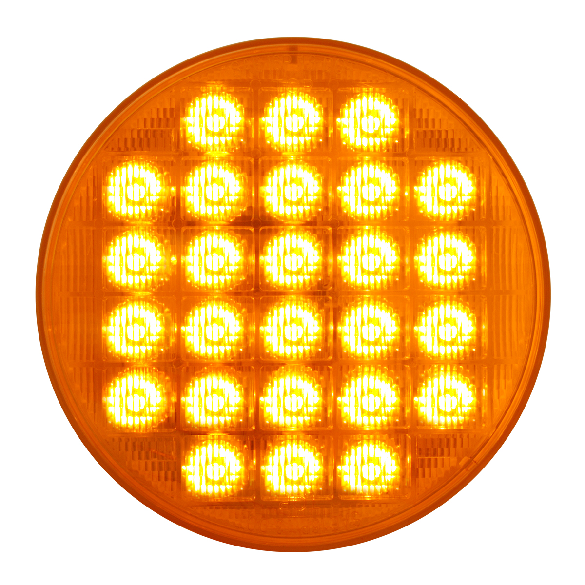 "74890 Sequential 4"" Smart Dynamic LED Light in Amber/Amber"