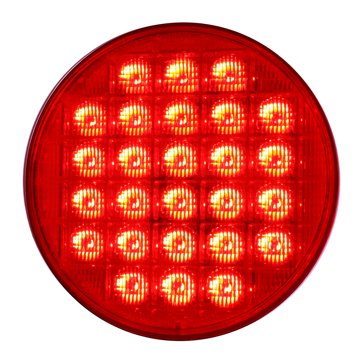 "74892 Sequential 4"" Smart Dynamic LED Light in Red/Red"