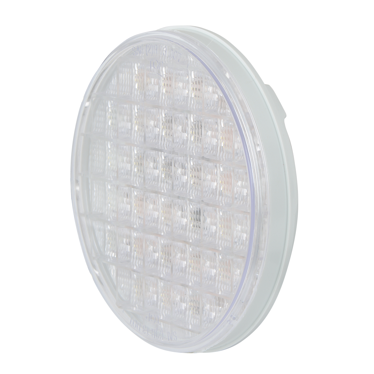 "4"" Smart Dynamic LED Light in Clear Lens"