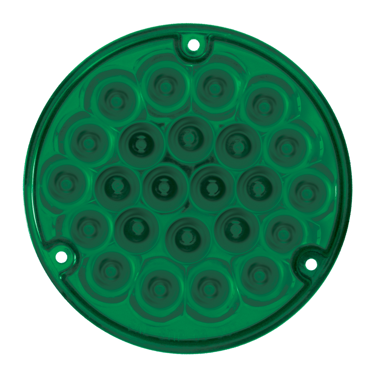 "76156 4"" Pearl LED Load Light in Green/Green"