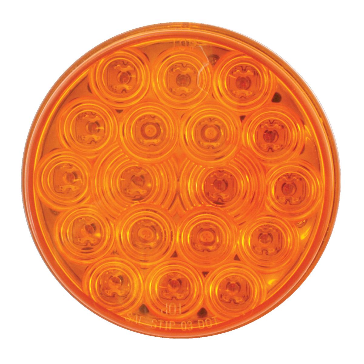 """76450 4"""" Fleet LED Light in Amber/Amber"""