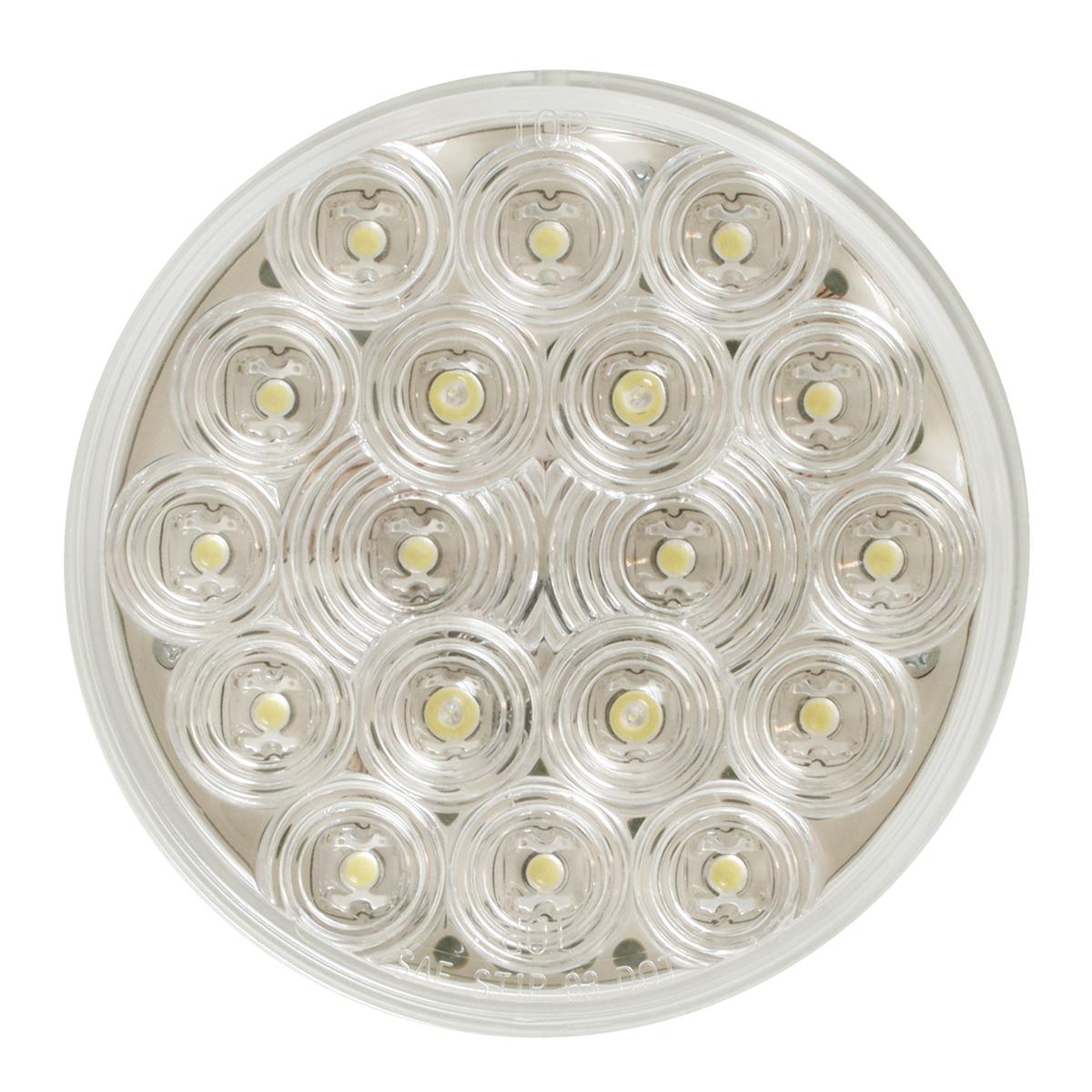 """76454 4"""" Fleet LED Light in White/Clear"""