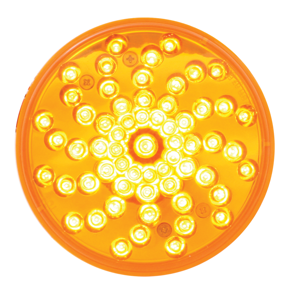 "76720 4"" Twister LED Light in Amber/Amber"
