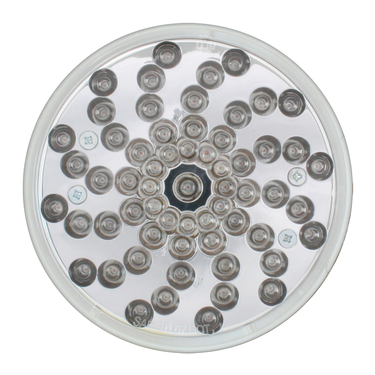 "4"" Twister LED Light in Clear Lens"