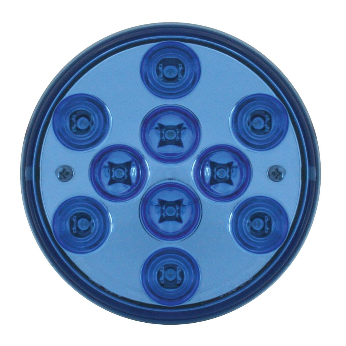 """76848 4"""" Mega 10 Plus LED Light in Blue/Blue"""