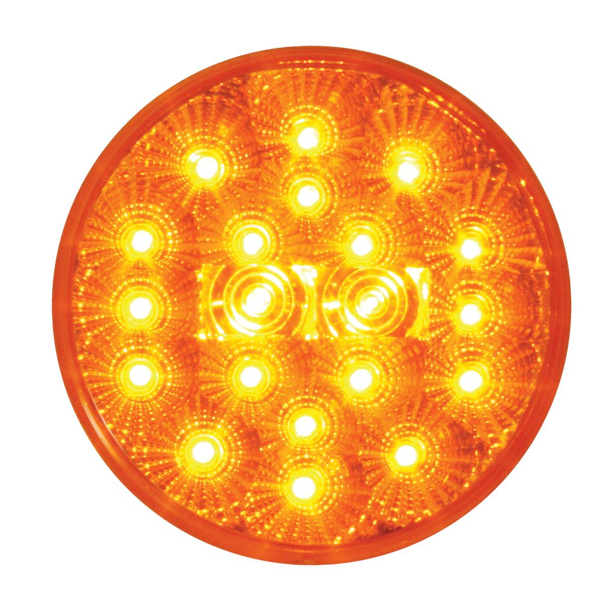 """77090 4"""" Spyder LED Light in Amber/Amber"""