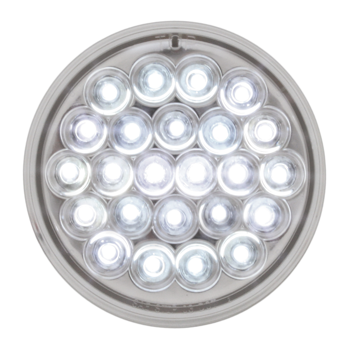 """78272 4"""" Pearl LED Light in White/Clear"""