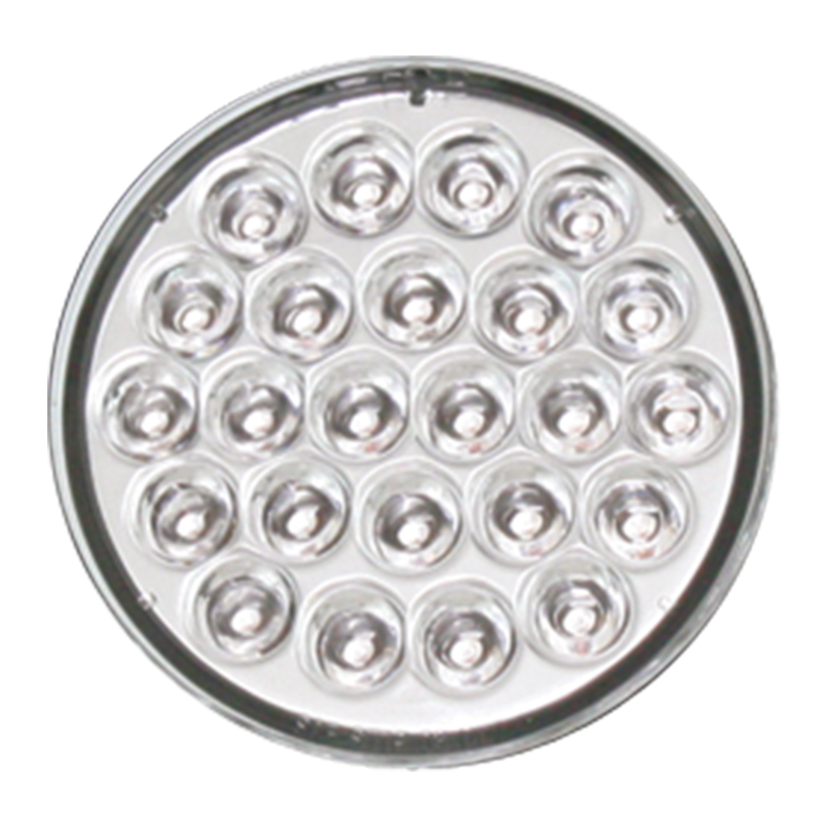 """4"""" Pearl LED Light in Clear Lens"""