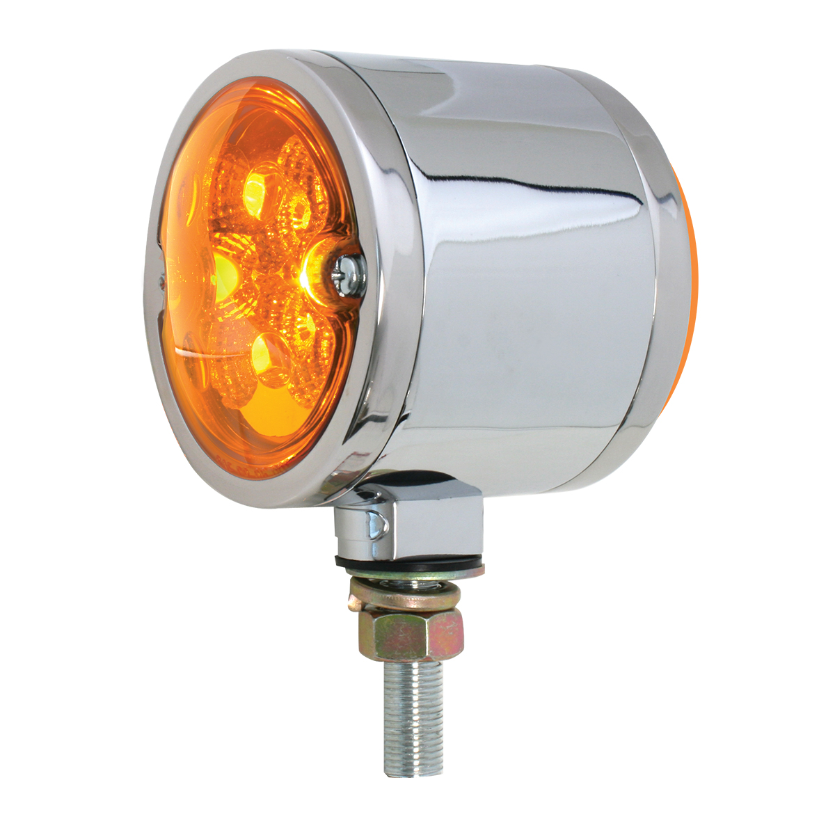 78550 Double Face Spyder LED Light in Amber/Amber