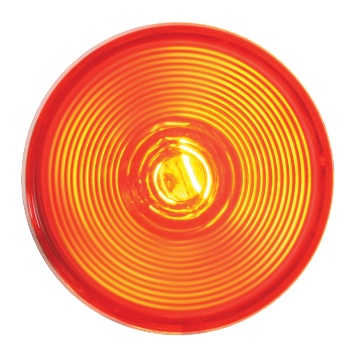 "#79247 4"" Red Stop/Turn/Tail Light with Clear Back Housing - Light Only"