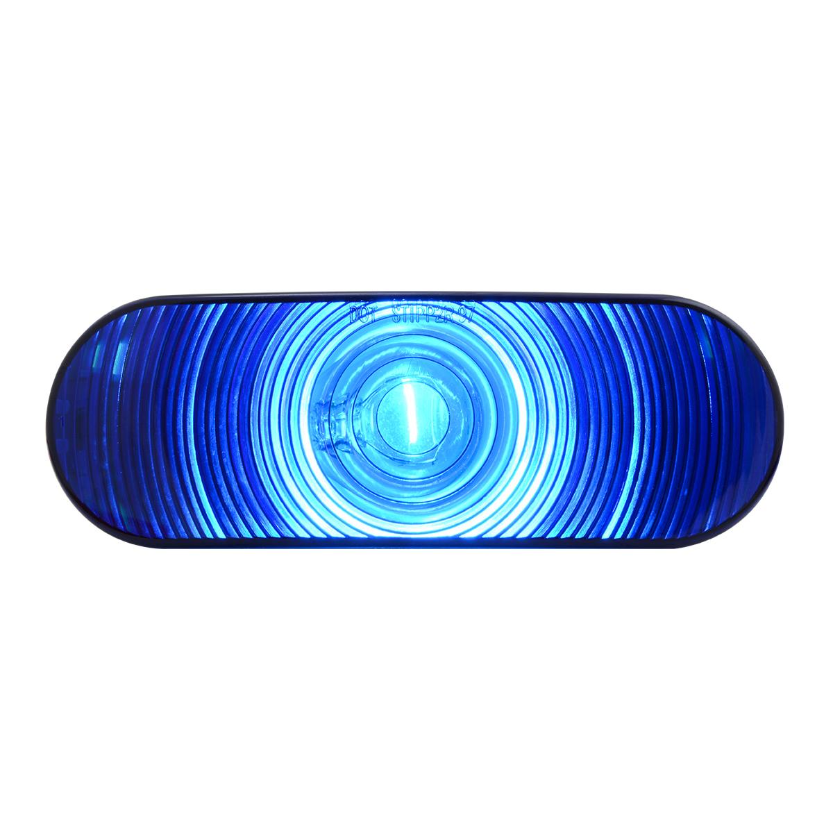 #79850 Oval Light - Blue Lens Only