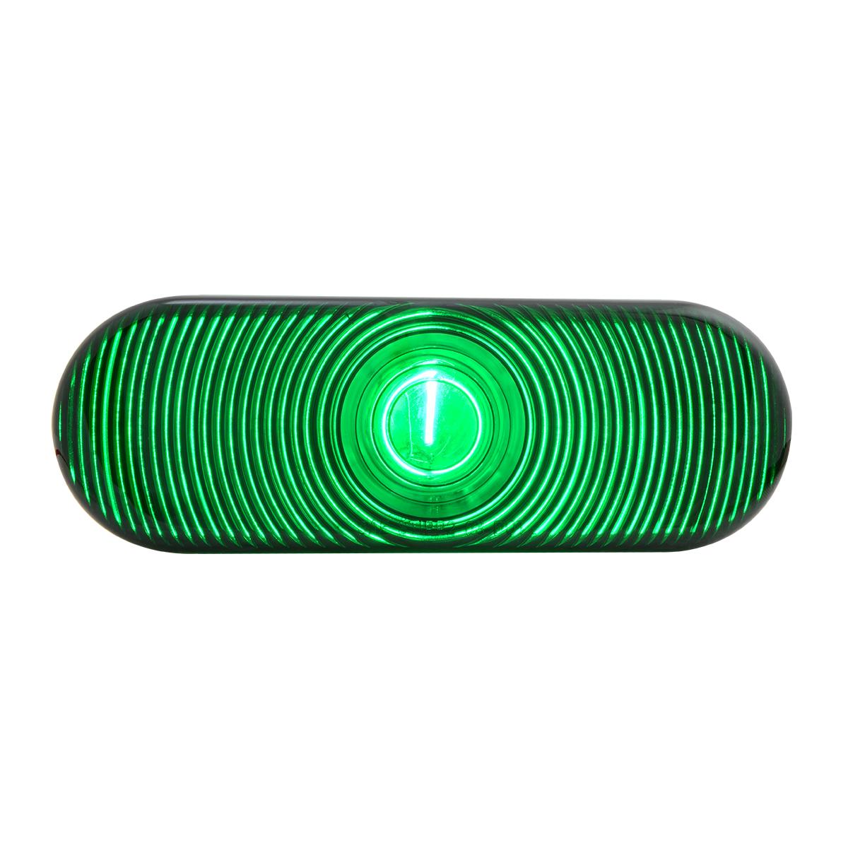 #79852 Oval Light - Green Lens Only