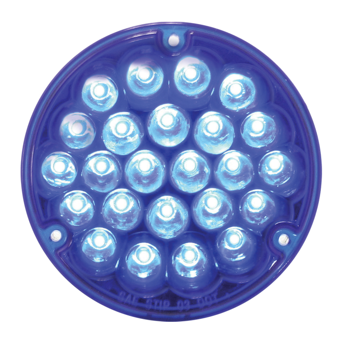 "82270 4"" Pearl LED Light Only in Blue/Clear"
