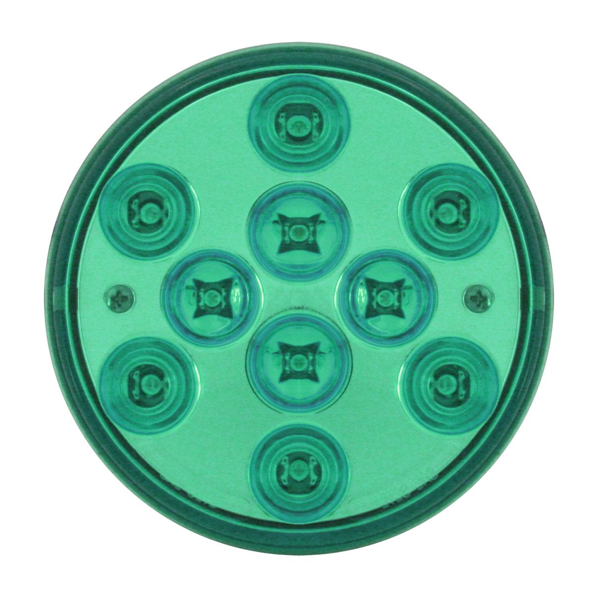 """82272 4"""" Mega 10 Plus LED Light in Green/Green"""