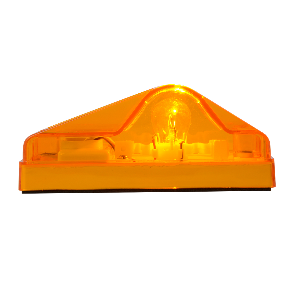 #87011 Side Mount Turn and Marker Amber Light Only - Side View