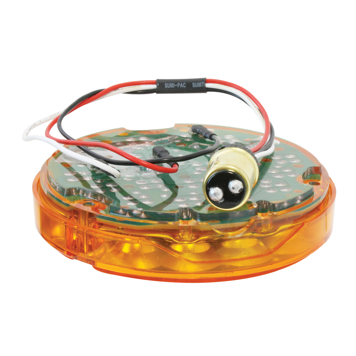 "87585 4"" Pearl LED Light Only in Amber/Amber"