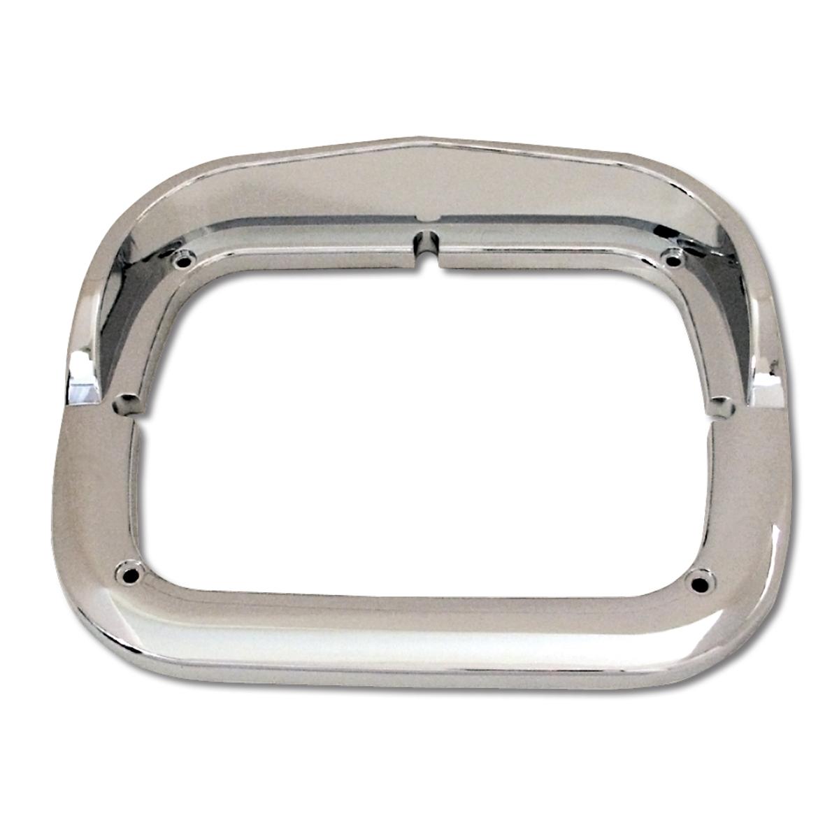 87594 Chrome Plastic Single Headlight Bezel