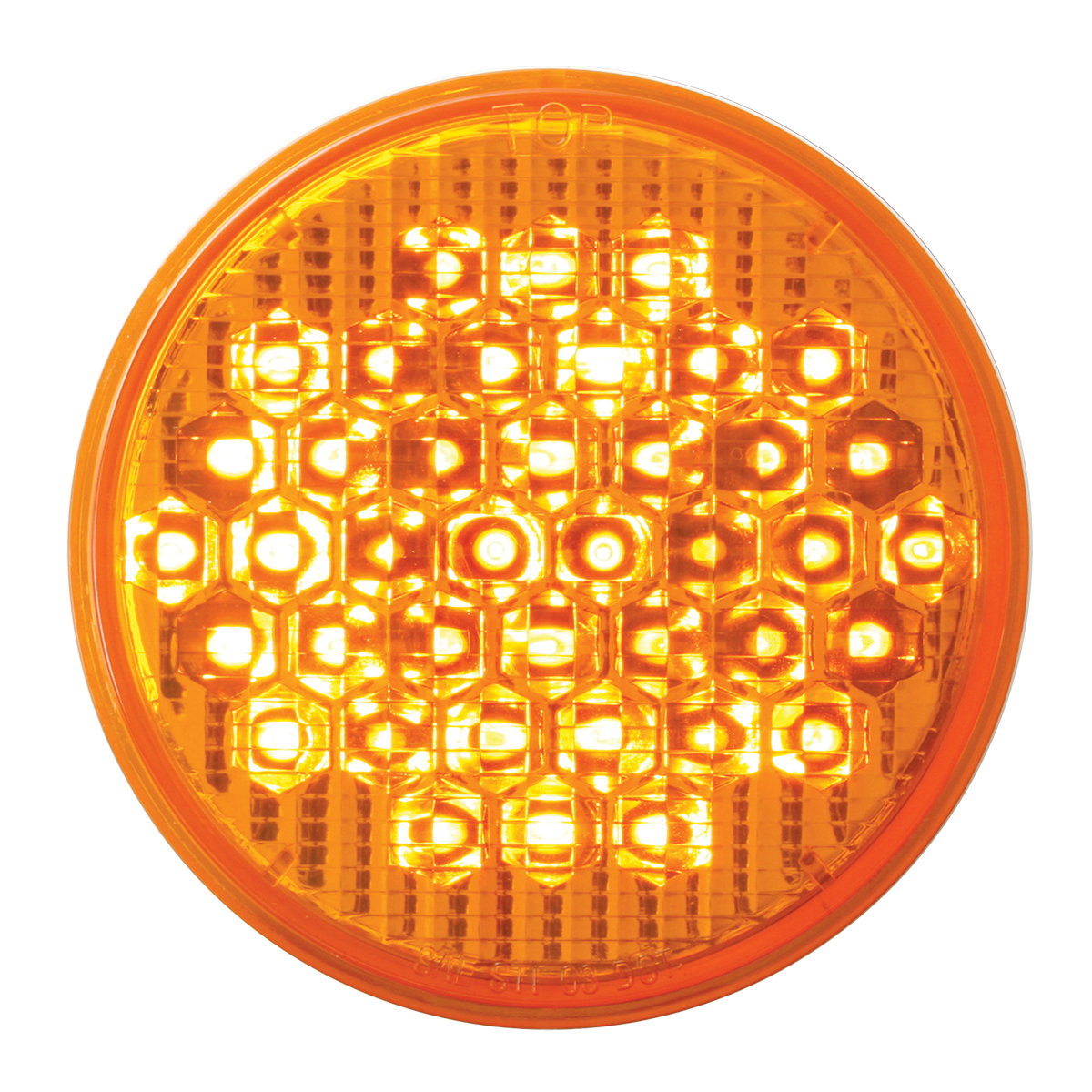 """87702 4"""" High Count LED in Amber/Amber"""