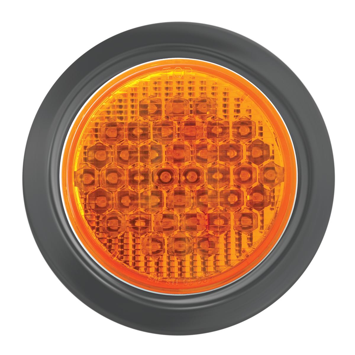 "87703 4"" High Count LED w/ Black Rubber Grommet"
