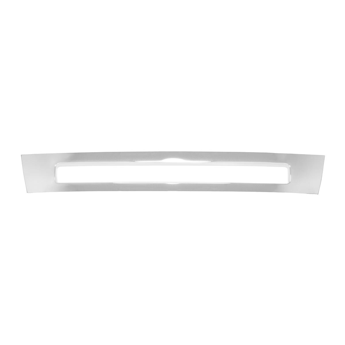 89323 Chrome Plastic Front Bumper Cover (Center) for Volvo VNL