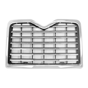 Chrome Plastic Grille with Bug Screen for Mack