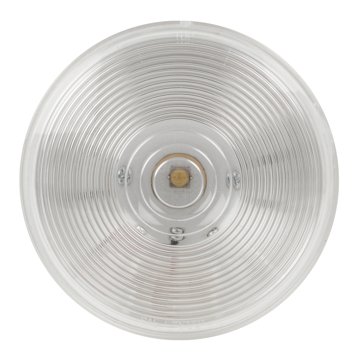 "4"" Single LED Light in Clear Lens"