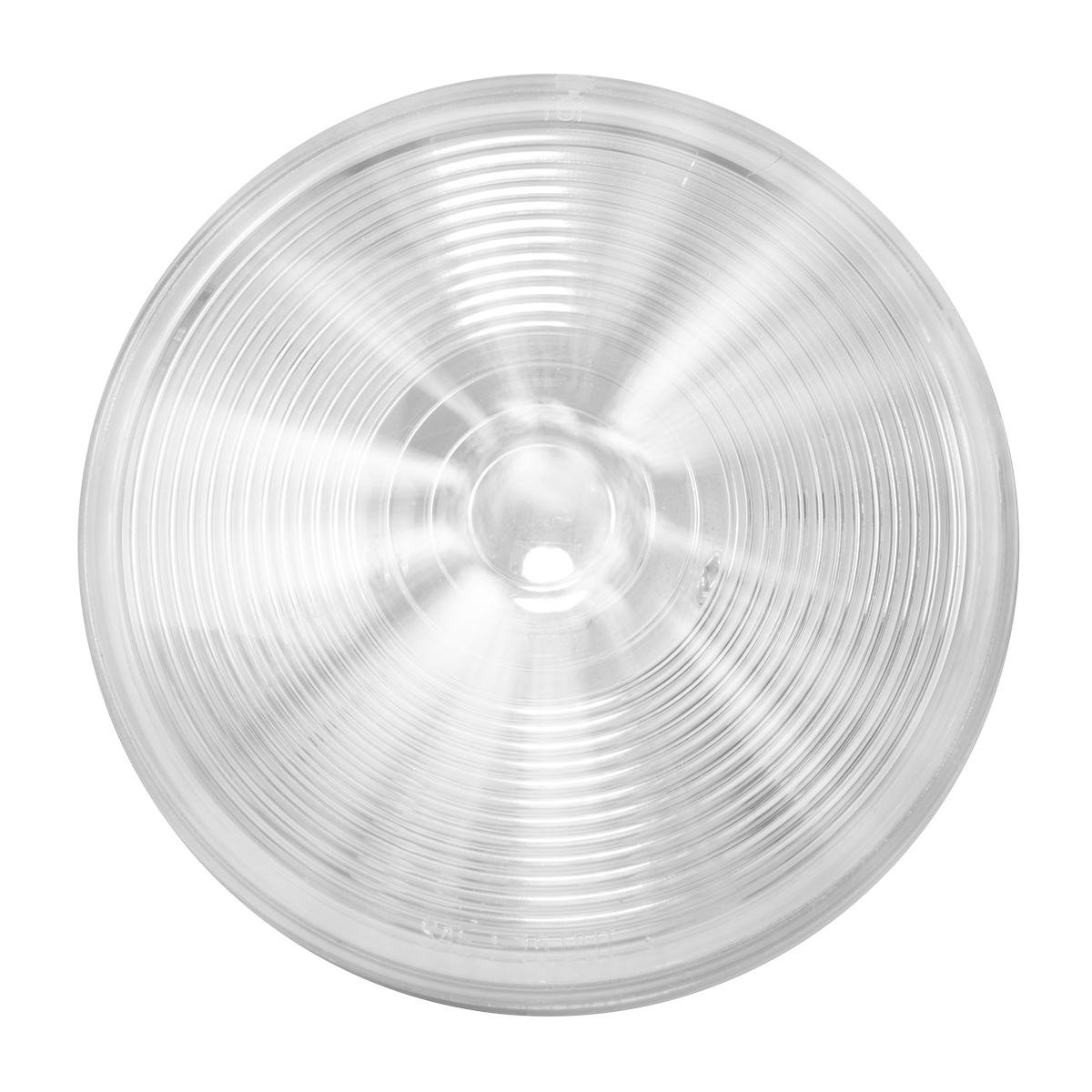 "75924 White/Clear 4"" Single LED Light"