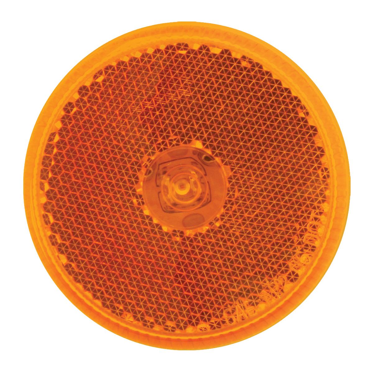 """76420 2.5"""" Single LED Marker Light in Amber/Amber"""