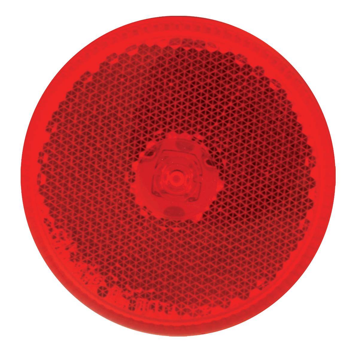 """76422 2.5"""" Single LED Marker Light in Red/Red"""