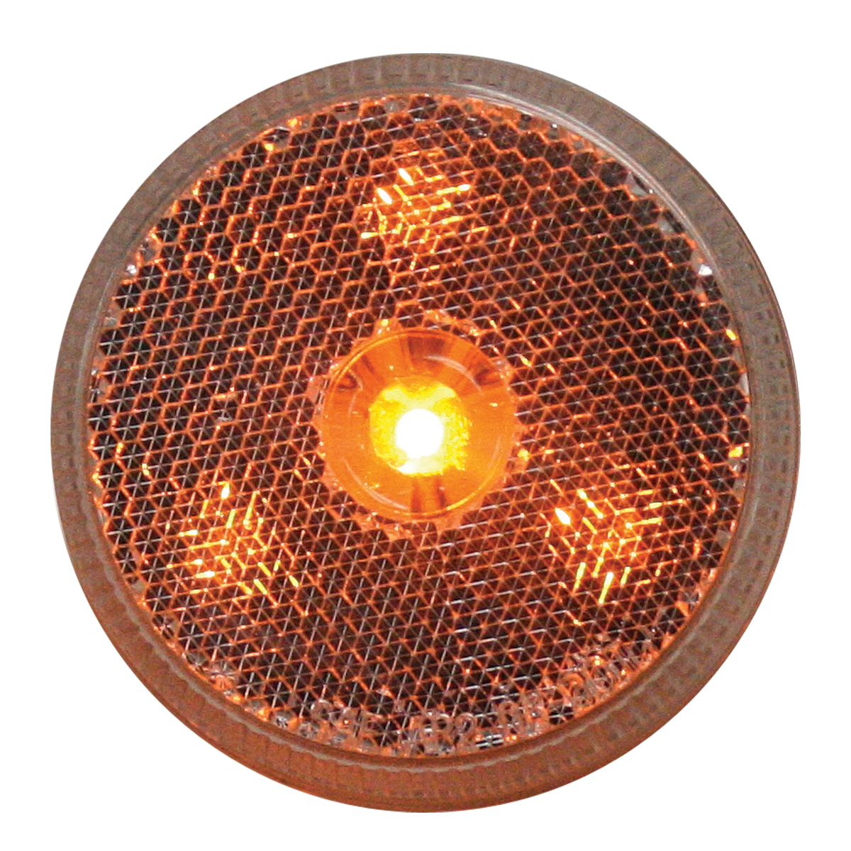 """76971 2.5"""" Reflector Style LED Maker Light in Amber/Clear"""