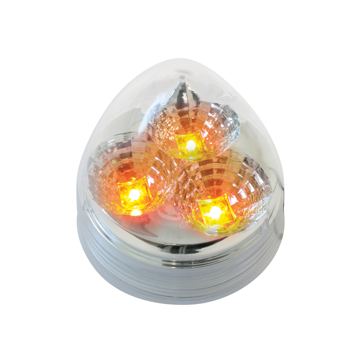Beehive Spyder LED in Amber/Clear