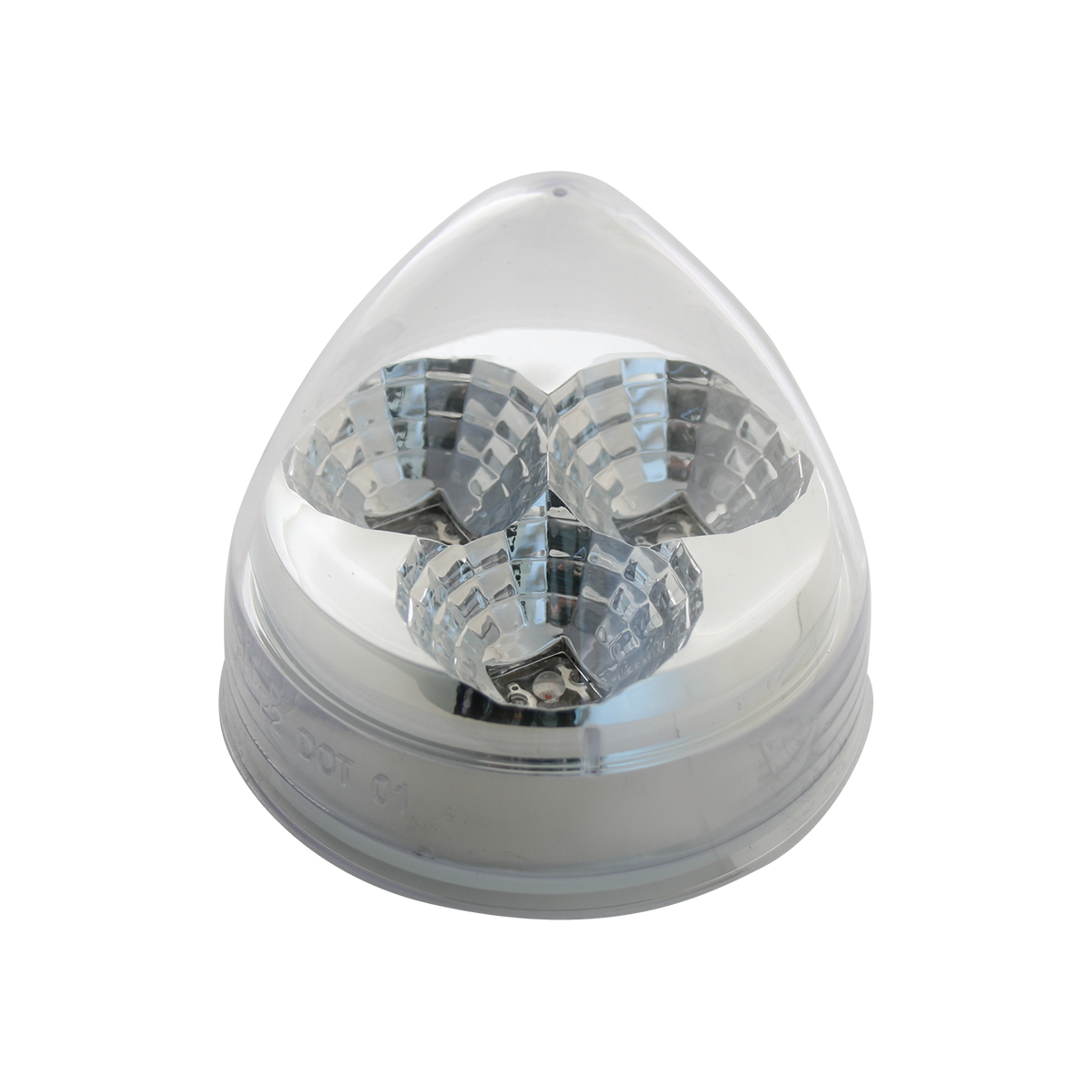 Beehive Spyder LED in Clear Lens