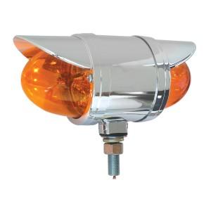 Double Face Spyder LED Pedestal Light with Visors